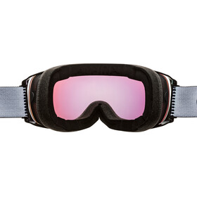 Alpina Granby QVMM Goggles black matt gold spherical
